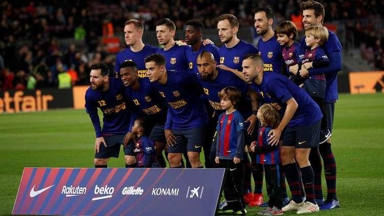 ميسي يغيب عن قائمة برشلونة لمواجهة ليونيسا في كأس الملك