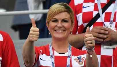 رئيسة كرواتيا تهنئ مودريتش بحصوله على «الكرة الذهبية»