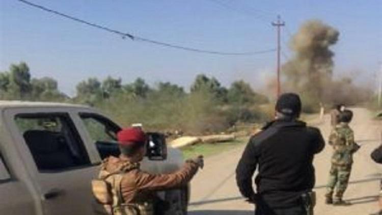 الجيش العراقي يفكك 18 عبوة ناسفة في تكريت