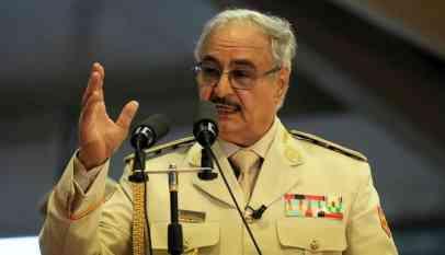 حفتر: تركيا تدعم الجماعات المسلحة وتؤجج الفوضى في ليبيا