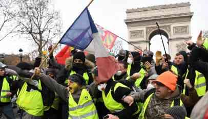 «الكرملين» ينفي علاقة روسيا باحتجاجات فرنسا