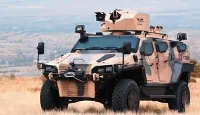 تركيا تختبر سلاح جديد في صحراء قطر