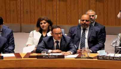 الكويت ترفض مشروع قرار بريطاني بشأن الهدنة في اليمن