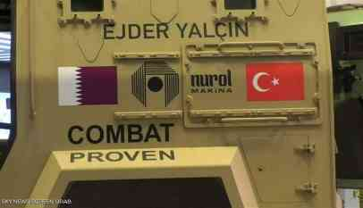 تركيا تغزو صحراء قطر بأسلحتها 2