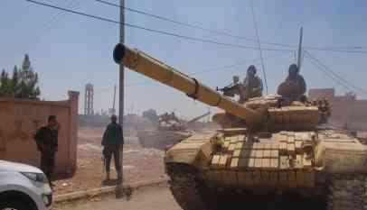 استعدادات عسكرية لجميع أطراف الأزمة السورية في منبج