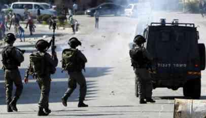 مواجهات بين الإحتلال وفلسطينيين في رام الله