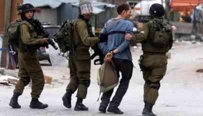 الاحتلال يعتقل 5 فلسطينيين