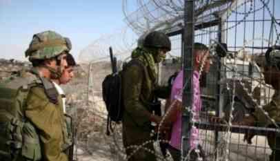 الإحتلال يعتقل 13 فلسطينيا في الضفة