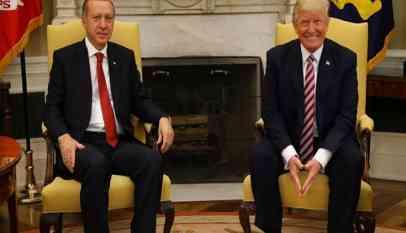 التنسيق مستمر بين أردوغان وترامب