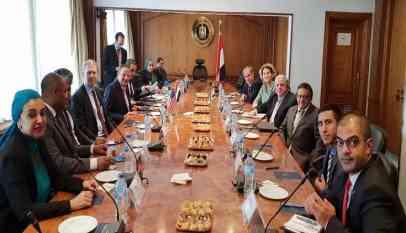 وفد إقتصادي إسرائيلي زار القاهرة