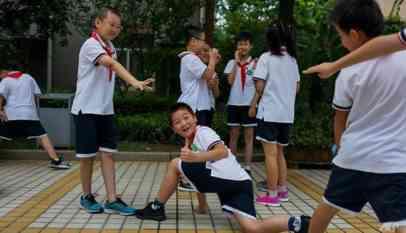 تعقب التلاميذ الصينيين الفارين من المدرسة بواسطة زيهم المدرسى 16