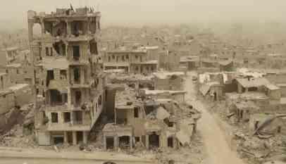 نفقات إعادة إعمار سوريا