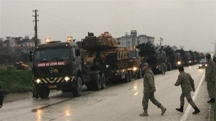 هجمات تركية مجددا على مواقع الأكراد