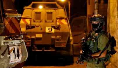 الاحتلال يعتقل 24 فلسطينيا
