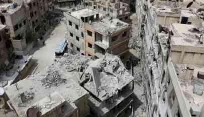 الإمارات ترمم مقر سفارتها لدى دمشق