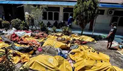 حصيلة ضحايا تسونامي إندونيسيا