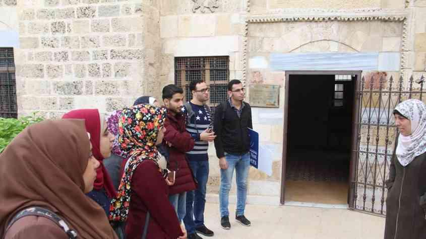 جولة تعريفية بالمواقع الأثرية في قطاع غزة