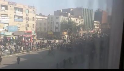 اعتقال العشرات من متظاهري عمال الصلب بالأهواز الإيرانية
