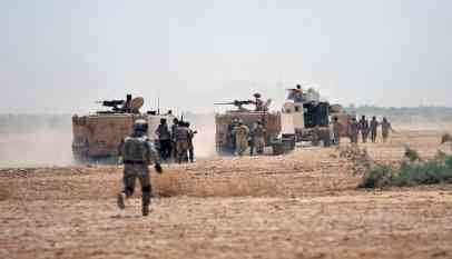 حملة عسكرية على فلول داعش
