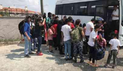 الأمن التركي يوقف 43 مهاجرا