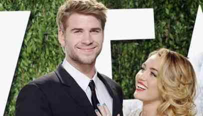 """زواج المغنيةالأمريكية""""مايلي سايرس"""" من الممثل الاسترالى هيمسورث"""