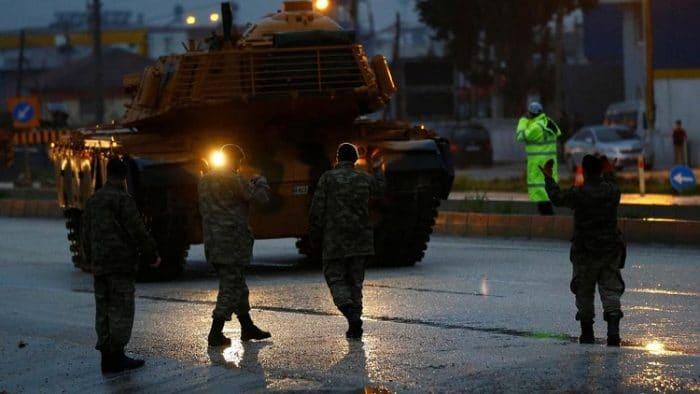 الكوماندوز التركي يتقدم شرق الفرات