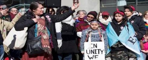 دعوة قضائية ضد إنتهاك حقوق النساء الأصليات بكندا 1