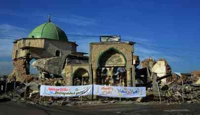 بناء جامع تاريخي في الموصل