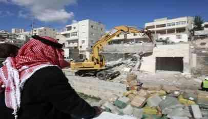 الاحتلال يهدم منزل فلسطيني