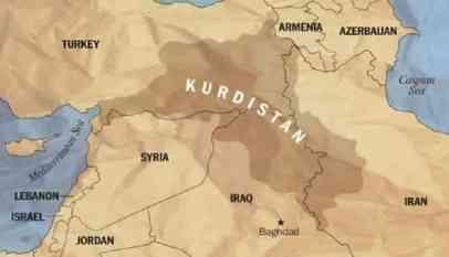 تركيا تدعو جوجل لإزالة خريطة كوردستان