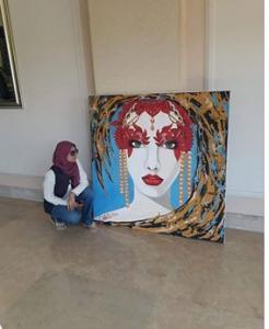 الفنانة داليا جمعة تسعى للعالمية 2