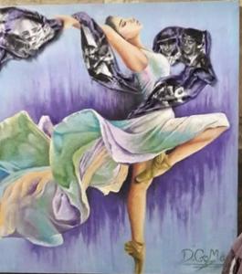 الفنانة داليا جمعة تسعى للعالمية 5