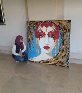 الفنانة داليا جمعة تسعى للعالمية 9