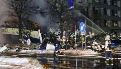 إصابة 41 شخصا في انفجار مطعم باليابان