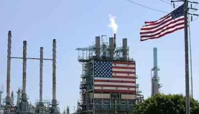 إنتاج النفط الخام الأمريكي