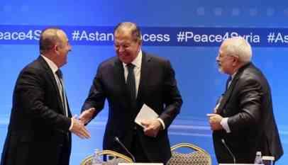 إيران وتركيا وروسيا