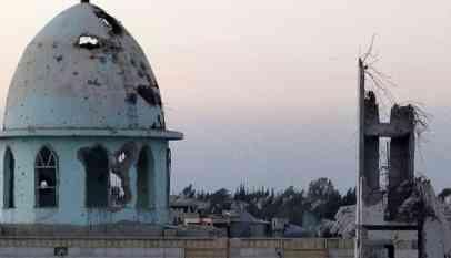 التحالف بقيادة واشنطن يقصف مسجدا في دير الزور
