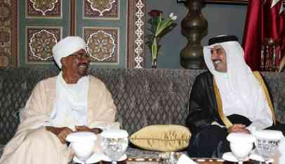 البشير يلتقي امير قطر الأربعاء القادم
