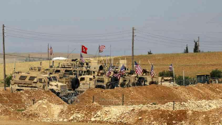 التحالف الدولي يبدأ عملية الانسحاب من سوريا