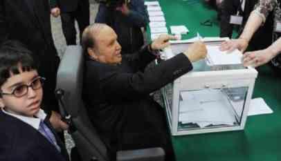 انتخابات الرئاسة الجزائرية 18 ابريل القادم