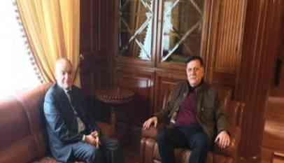 غسان يشيد باجتماع «داخلية حكومة الوفاق» مع سفراء المجتمع الدولي