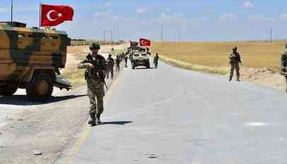 القوات التركية تتقدم نحو الكردية الارهابية