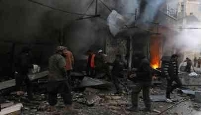 انفجار بجانب مكتب جبهة النصرة في إدلب وسقوط ضحايا