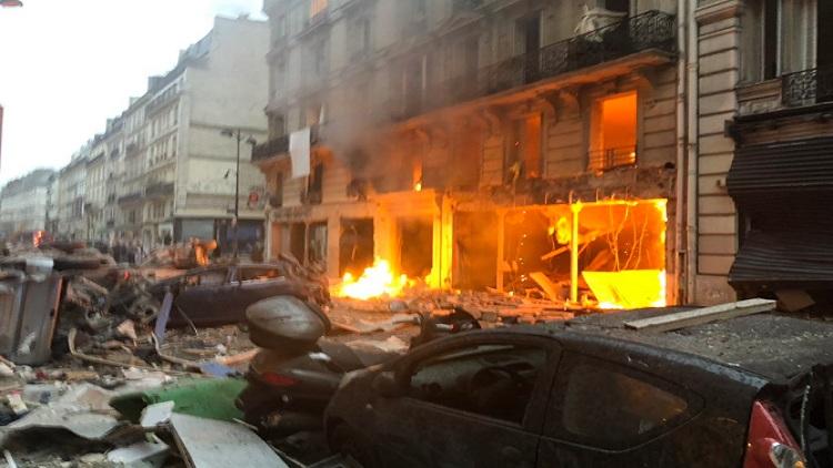 قتلى وجرحى في انفجار بالعاصمة الفرنسية باريس