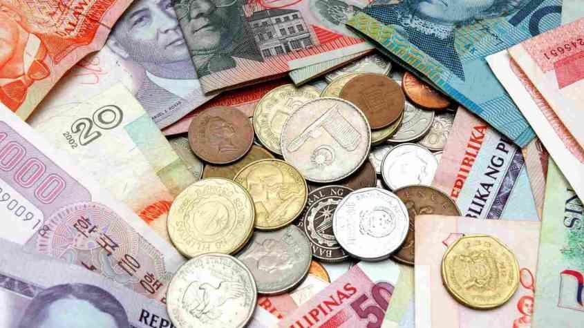 سعر صرف العملات العربية مقابل الدولار