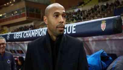 موناكو يقرر إيقاف هنري عن تدريب فريق الكرة