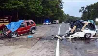 حادث سير مروع يقضي على حياة 7 أشخاص في روسيا