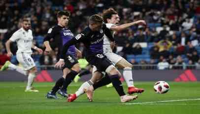 ريال مدريد يفوز على ليجانس بثنلاثية في ذهاب دور الـ16 لكأس الملك