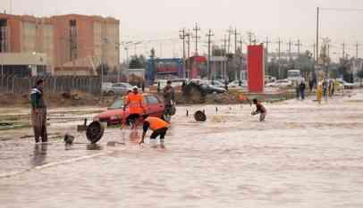 غرق 50 منزلا وإجلاء المئات بسبب السيول