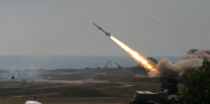 صاروخ يضرب جنوب الاراضي المحتلة